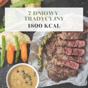 7-dniowy tradycyjny 1800 kcal